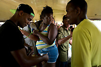 TRINIDAD, CUBA - MAY 10: Cuban passengers during the trip from Trinidad to Iznaga on May 10, 2018. in Cuba. Ferrocarriles de Cuba, is one of the oldest railroad around world, having opened its first route in 1837 with at least 17-mile long. Now the railway probably could cover more than 2,600 miles along the Island. (Photo by Eliana Aponte/VIEWpress)