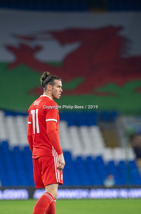 Cardiff - UK - 9th September :<br />Wales v Belarus Friendly match at Cardiff City Stadium.<br />Gareth Bale of Wales <br />Editorial use only