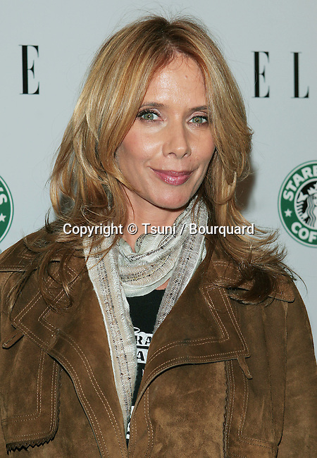 Rosanna Arquette arriving at the Global Green Premiere Issue at the PDC in Los Angeles.. April 5, 2006.