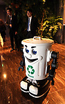 """March 15, 2017, Urayasu, Japan - A floor cleaning robot is displayed at a reception of the newly opened """"Henn na Hotel"""" (Strange hotel) near Tokyo Disney Resort in Urayasu, suburban Tokyo on Wednesday, March 15, 2017. Japan's travel agency H.I.S runs the Henn na Hotel which has only seven human employees while nine types 140 robot staffs work at the 100-room six-storey hotel.    (Photo by Yoshio Tsunoda/AFLO) LwX -ytd-"""
