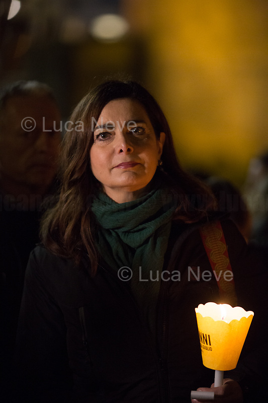 Laura Boldrini MP (Member of Parliament for the Democratic Party PD and Former President of the Chamber of Deputies of Italy).<br />