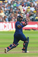 Ashar Zaidi hits six runs for Essex during Gloucestershire vs Essex Eagles, NatWest T20 Blast Cricket at The Brightside Ground on 13th August 2017