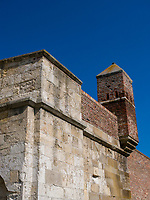 Mauer der Festung Kalemegdan, Belgrad, Serbien, Europa<br /> wall of  the fortress,  Belgrade, Serbia, Europe