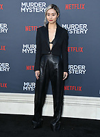 "10 June 2019 - Westwood, California - Shioli Kutsuna. Netflix's ""Murder Mystery"" Los Angeles Premiere held at Regency Village Theater. Photo Credit: Birdie Thompson/AdMedia"