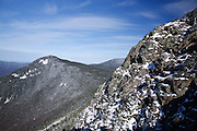 Mount Liberty from the summit of Mount Flume in the White Mountains of New Hampshire.