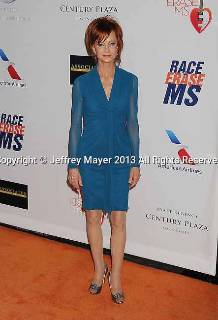 CENTURY CITY, CA- MAY 03:   Actress Swoosie Kurtz arrives at the 20th Annual Race To Erase MS Gala 'Love To Erase MS' at the Hyatt Regency Century Plaza on May 3, 2013 in Century City, California.