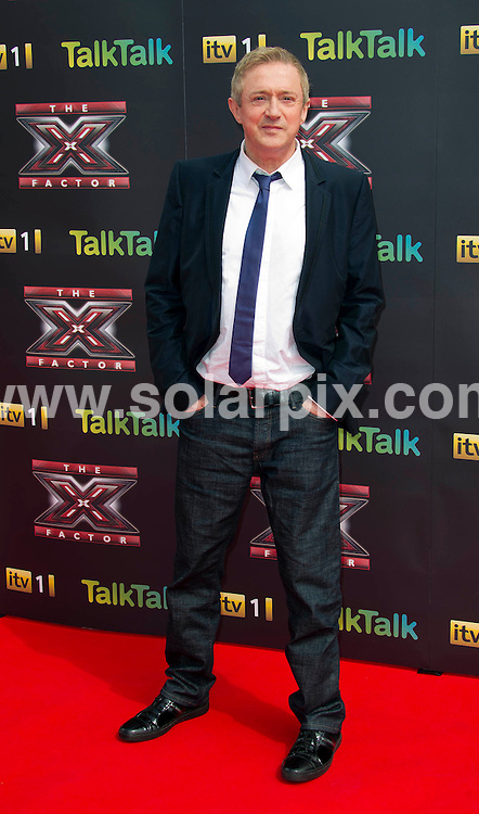 **ALL ROUND PICTURES FROM SOLARPIX.COM**                                             **WORLDWIDE SYNDICATION RIGHTS**                                                                                  Caption: X Factor 2011 Press Launch, at the O2 Arena, Greenwich, London, UK. 17 August 2011                                                                              This pic: Louis Walsh                                                                                            JOB REF: 13849 SKD       DATE: 17_08_2011                                                           **MUST CREDIT SOLARPIX.COM OR DOUBLE FEE WILL BE CHARGED**                                                                      **MUST AGREE FEE BEFORE ONLINE USAGE**                               **CALL US ON: +34 952 811 768 or LOW RATE FROM UK 0844 617 7637**