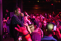 DETROIT, MI - SEPTEMBER 16: GZA of The Wu Tang Clan performs with Wavves at The Shelter in Detroit, Michigan. September 17, 2012. © Joe Gall/MediaPunch Inc. /NortePhoto<br />
