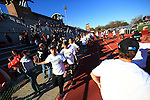 The University of Maryland wins the 2015 Men's Big Ten Soccer Tournament Championship defeating The Ohio State University 2-0. At The Jesse Owens Memorial Stadium, Columbus, OH. November 15, 2015