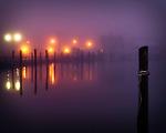 Foggy morning at the Pier - Babylon Village