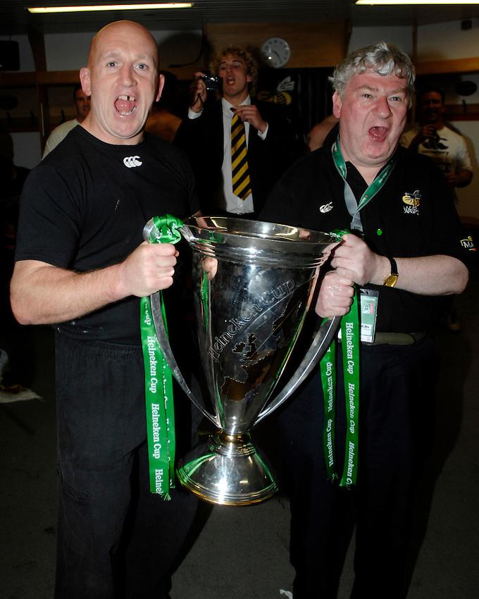 Photo: Richard Lane..London Wasps v Leicester Tigers. Heineken Cup Final. 20/05/2007. .