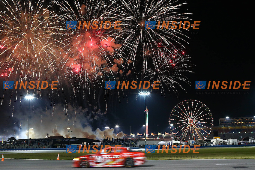 Vista generale.27/1/2013 Daytona.Automobilismo Grand AM 24h di Daytona .Foto Andrew Hall / Vision Sport / Panoramic / Insidefoto.ITALY Only