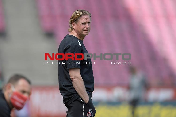 nph00351: Markus GISDOL (Trainer 1.FC Koeln),<br /> Sport: Fussball: 1. Bundesliga: Saison 19/20: 26.Spieltag: 1.FC KOELN-FSV MAINZ 05,17.05.2020.<br /> Foto: Anke Waelischmiller/SVEN SIMON/POOL / via Meuter/nordphoto<br /> <br /> Nur für journalistische Zwecke! Only for editorial use!<br /> Gemäß den Vorgaben der DFL Deutsche Fußball Liga ist es untersagt, in dem Stadion und/oder vom Spiel angefertigte Fotoaufnahmen in Form von Sequenzbildern und/oder videoähnlichen Fotostrecken zu verwerten bzw. verwerten zu lassen. DFL regulations prohibit any use of photographs as image sequences and/or quasi-video.