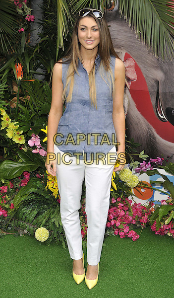 LONDON, ENGLAND - MARCH 30: Luisa Zissman attends the &quot;Rio 2&quot; VIP film screening, Vue West End cinema, Leicester Square, on Sunday March 30, 2014 in London, England, UK.<br /> CAP/CAN<br /> &copy;Can Nguyen/Capital Pictures