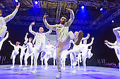 London, UK. 18 March 2016. Dancers from Performers College from Essex performing on the Main Stage. Move It, the UK's biggest event for dance and performing arts opens at the Excel Exhibition Centre and runs until  Sunday, 20 March 2016.