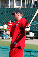 Mark Trumbo - Arkansas Travelers.2009 Texas League All-Star game held at Dr. Pepper Ballpark, Frisco, TX - 07/01/2009. The game was won by the North Division, 2-1..Photo by:  Bill Mitchell/Four Seam Images