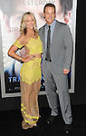 Cynthia Daniel and Cole Hauser arriving at the Transcendence Los Angeles Premiere held at the Regency Village Theater April 10, 2014.