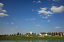 General view of 18th green) during the third round of the Kazakhstan Open played at Zhailjau Golf Resort, Almaty on September 15, 2012 in Almaty, Kazakhstan.(Picture Credit / Phil Inglis)