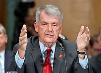 Timothy J. Sloan Testifies on the Status of Wells Fargo Bank