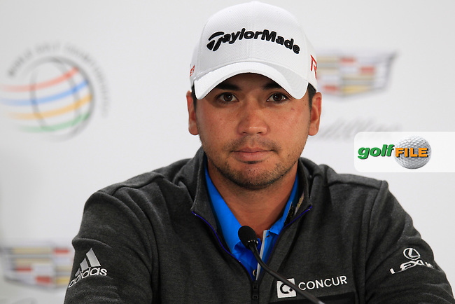 Jason DAY (AUS) during Pro-Am TPC Harding Park, 99 Harding Road, San Francisco, CA 94132, United States. 28/04/2015<br /> Picture Fran Caffrey, www.golffile.ie