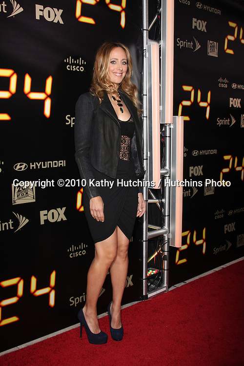 "Kim Raver.arrives at the ""24"" Series Finale Party .Boulevard3.Los Angeles, CA.April 30, 2010.©2010 Kathy Hutchins / Hutchins Photo..."