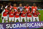 Independiente Santa venció como local 1-0 (2-1 en el global) a Fuerza Amarilla. Dieciseisavos de final de la Conmebol Sudamericana 2017.
