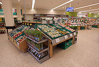 The fresh produce area