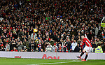 Wayne Rooney of Manchester United takes a corner kick during the English League Cup Quarter Final match at Old Trafford  Stadium, Manchester. Picture date: November 30th, 2016. Pic Simon Bellis/Sportimage