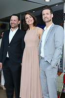 LOS ANGELES - MAR 25:  Dan Fogelman, Mandy Moore, Shane West at the Mandy Moore Star Ceremony on the Hollywood Walk of Fame on March 25, 2019 in Los Angeles, CA