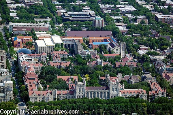 aerial photograph University of Chicago, Illinois