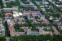 aerial photograph University of Chicago, Illinois