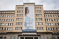 Centre hospitalier universitaire Sainte-Justine is pictured in Montreal Wednesday November 19, 2014. The Centre hospitalier universitaire Sainte-Justine (CHU Sainte-Justine) is a pediatric and obstetric university health centre affiliated with the Université de Montreal.