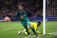 Dele Alli of Tottenham Hotspur retrieves the ball after a save by Andre Onana of Ajax during AFC Ajax vs Tottenham Hotspur, UEFA Champions League Football at the Johan Cruyff Arena on 8th May 2019