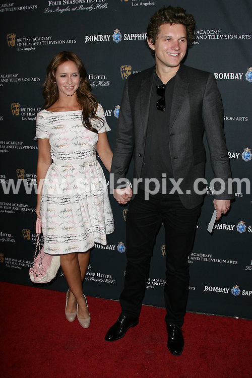 **ALL ROUND PICTURES FROM SOLARPIX.COM**                                             **SYNDICATION RIGHTS FOR UK, AUSTRALIA, DENMARK, PORTUGAL, S. AFRICA, SPAIN & DUBAI (U.A.E) & ASIA (EXCLUDING JAPAN) ONLY**                                                                                   2011 BAFTA Los Angeles Award Season Tea Party arrivals at Four Seasons Hotel Los Angeles, USA.                                                                         This pic:   Jennifer Love Hewitt and Alex Beh                                                                             JOB REF:    12670  PHZ/Charlotte       DATE: 15.01.11                                                       **MUST CREDIT SOLARPIX.COM OR DOUBLE FEE WILL BE CHARGED**                                                                      **MUST AGREE FEE BEFORE ONLINE USAGE**                               **CALL US ON: +34 952 811 768 or LOW RATE FROM UK 0844 617 7637**