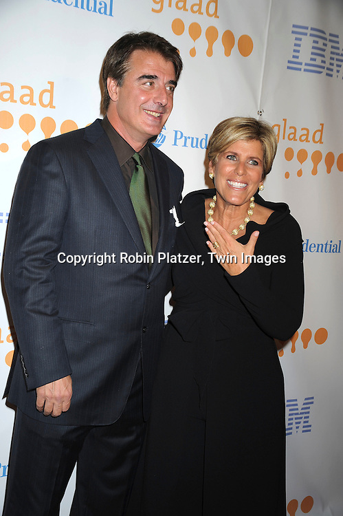 Chris Noth and Suze Orman