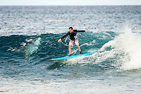 Anantara Resort, Maldives (Friday, June 26, 2015) Giavano learning to surf with Tropicsurf guides at Anantara. A solid south swell was breaking across the island nation today with a number reef breaks producing good waves. The session this afternoon was at Nonyas in the South Male Atolls Photo: joliphotos.com