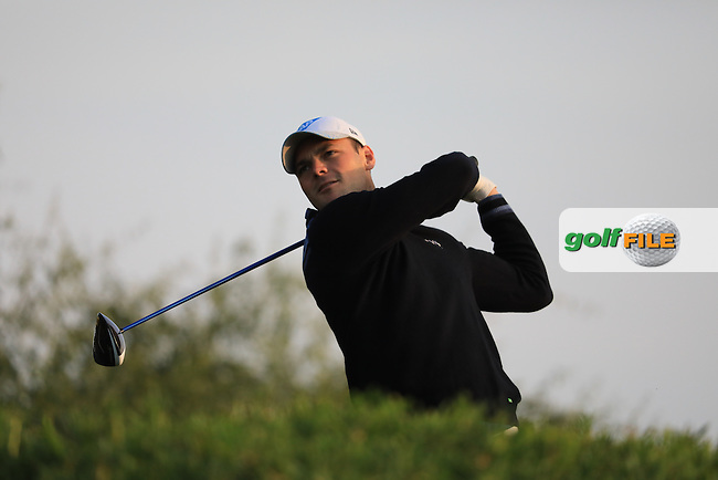 Martin Kaymer (GER) on the 11th tee during the 1st round of the Abu Dhabi HSBC Championship, Abu Dhabi Golf Club, Abu Dhabi,  United Arab Emirates. 19/01/2017<br /> Picture: Golffile | Fran Caffrey<br /> <br /> <br /> All photo usage must carry mandatory copyright credit (&copy; Golffile | Fran Caffrey)