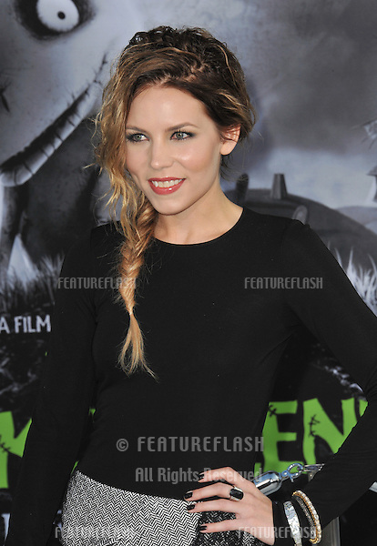 "Skylar Grey at the premiere of ""Frankenweenie"" at the El Capitan Theatre, Hollywood..September 24, 2012  Los Angeles, CA.Picture: Paul Smith / Featureflash"