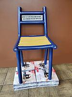 BLUE & GOLD Chair