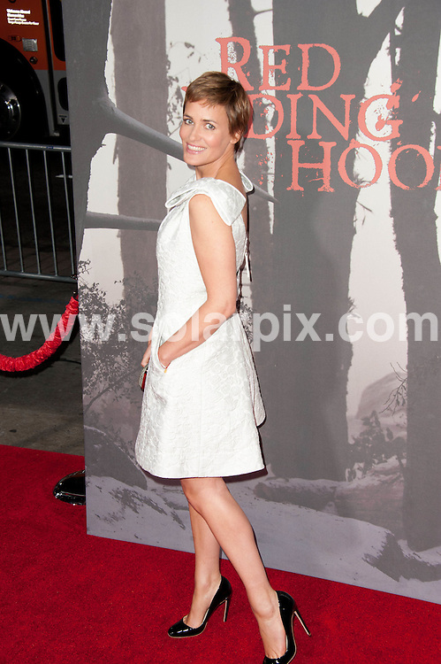 **ALL ROUND PICTURES FROM SOLARPIX.COM**                                             **SYNDICATION RIGHTS FOR UK, AUSTRALIA, DENMARK, PORTUGAL, S. AFRICA, SPAIN & DUBAI (U.A.E) & ASIA (EXCLUDING JAPAN) ONLY**                                                                                  Caption: arrivals at the Los Angeles Premiere of - Red Riding Hood - held at the Grauman's Chinese Theater - Hollywood, CA, USA. 7 March 2011                                                                         This pic: Judith Godreche                                                                                JOB REF: 12932 PHZ Gabber      DATE: 07_03_2011                                                          **MUST CREDIT SOLARPIX.COM OR DOUBLE FEE WILL BE CHARGED**                                                                      **MUST AGREE FEE BEFORE ONLINE USAGE**                               **CALL US ON: +34 952 811 768 or LOW RATE FROM UK 0844 617 7637**