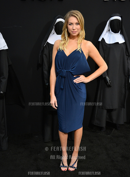 "LOS ANGELES, CA. September 04, 2018: Stassi Schroeder at the world premiere of ""The Nun"" at the TCL Chinese Theatre, Hollywood."