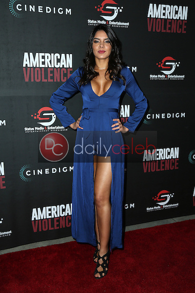 """Paola Paulin<br /> at the """"American Violence"""" World Premiere, Egyptian Theater, Hollywood, CA 01-25-17<br /> David Edwards/DailyCeleb.com 818-249-4998"""