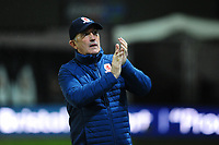 Middlesbrough manager Tony Pulis during the FA Cup Fourth Round Replay match between Newport County and Middlesbrough at Rodney Parade in Newport, Wales, UK. Tuesday 05 February 2019