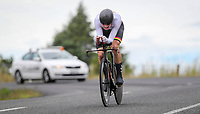Hamish Bond, new mens champion, BDO Elite Road National Championships - Time Trials,  New Zealand. Friday, 05 January,  2018. Copyright photo: John Cowpland / www.photosport.nz