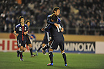 Japan vs Bahrain during the Olympic Qualifying 2012 Group C stage match on March 14, 2012 at the National Stadium in Tokyo, Japan. Photo by World Sport Group