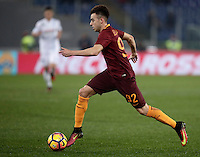 Calcio, Serie A: Roma vs ChievoVerona. Roma, stadio Olimpico, 22 settembre 2016.<br /> Roma&rsquo;s Stephan El Shaarawy in action during the Italian Serie A football match between Roma and Chievo Verona, at Rome's Olympic stadium, 22 December 2016.<br /> UPDATE IMAGES PRESS/Isabella Bonotto