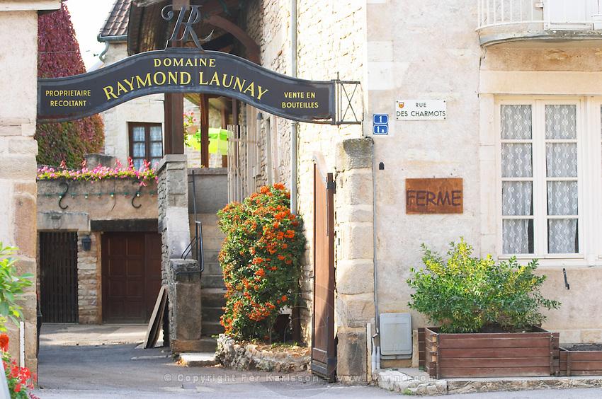 Domaine Raymond Launay. The village. Pommard, Cote de Beaune, d'Or, Burgundy, France