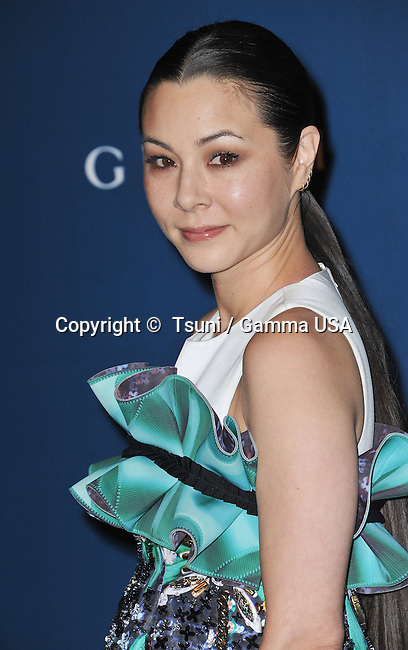 China Chow arriving at LACMA Art + Film Gala 2013 at the LACMA Museum in Los Angeles.