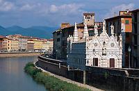 Italien, Toskana, Pisa, Santa Maria della Spina