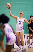07 OCT 2009 - LOUGHBOROUGH, GBR - Becky James - Loughborough Lightning v Australian Diamonds (PHOTO (C) NIGEL FARROW)